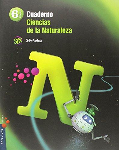 Cuaderno Ciencias de la Naturaleza 6º Primaria (Superpixépolis) - 9788426396549