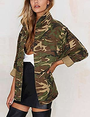 Sitengle  Chaqueta Camuflaje Casual