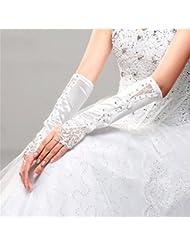 DELLT- Robe de mariée en dentelle noire
