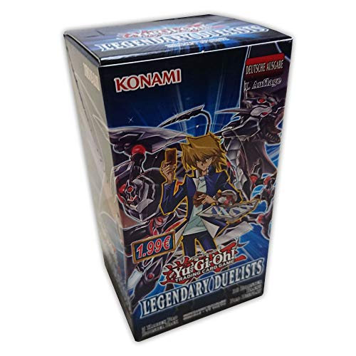 Yu-Gi-Oh! Legendary Duelists Display mit 18 Booster-Packungen - 1. Auflage deutsch