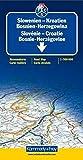 Slowenien/Kroatien/Bosnien-Herzegowina 1 : 500 000. Straßenkarte: Sehenswürdigkeiten, Reiseinformationen, Distanzentabelle, Index (International Road Map) (Kümmerly+Frey Strassenkarten) - Kümmerly + Frey