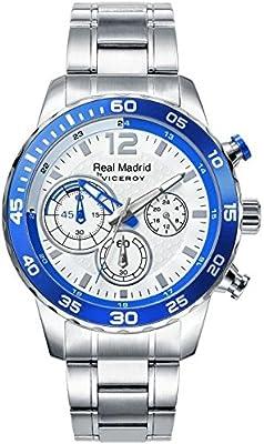 Reloj Viceroy Real Madrid Caballero 40965-05 Acero Crono