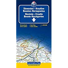 Slowenien/Kroatien/Bosnien-Herzegowina 1 : 500 000. Straßenkarte: Sehenswürdigkeiten, Reiseinformationen, Distanzentabelle, Index (International Road Map) (Kümmerly+Frey Strassenkarten)
