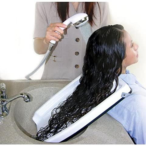 Hair Washing Tray (for home or salon - use with chair or wheel chair!) by CLOSET HANGER