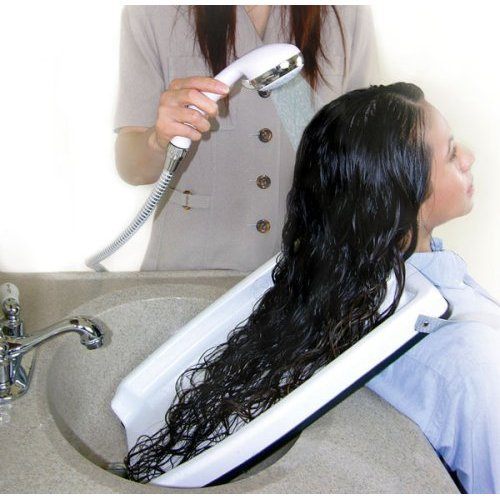 Hair Washing Tray For Home Or Salon Use With Chair Or Wheel Chair  available at amazon for Rs.2703