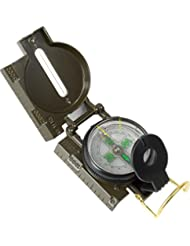 Kompass mit Peileinrichtung und Visiereinrichtung im Deckel, flüssigkeitsgedämpft