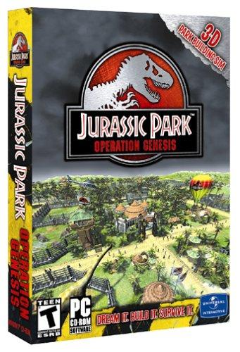 Jurassic Park: Operation Genesis - PC by Vivendi Universal - Jurassic Genesis Operation