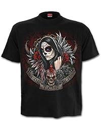 Spiral T-shirt pour homme Motif Muertos Dias Noir