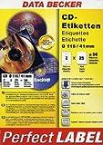 Data Becker Original-Papier : CD-Etiketten