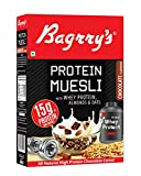 #1: Bagrry's Protein Muesli with Whey Protein , Almonds and Oats, 500g