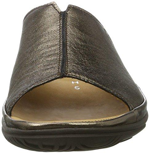 Gabor Shoes Comfort, Ciabatte Donna Grigio (a`silber 19)