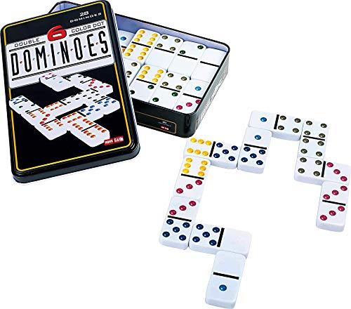 grupo fu Domino Doble 6. 28pc Dot Domino Juego de táctica -...
