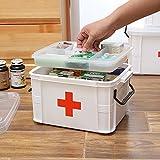 MyLifeUNIT Medizin-Box, Erste-Hilfe-Set für Zuhause auf Reisen Kfz-Erste-Hilfe-Set