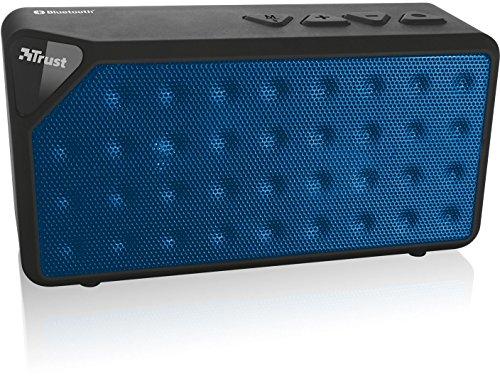 Trust Urban Yzo - Mini altavoz portátil Bluetooth 2.0 (estéreo, alcance hasta 10 metros), azul