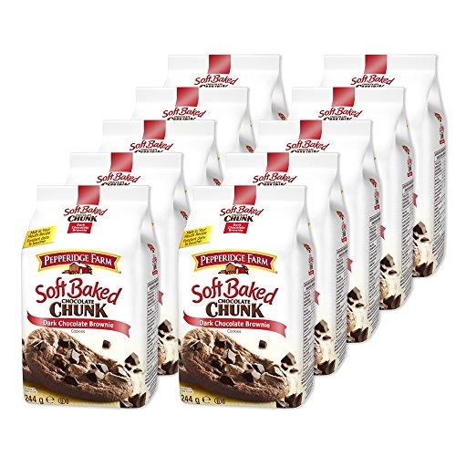 10er-set-pepperidge-farm-dark-chocolate-brownie-244-g-american-cookie-soft-baked-chocolate-chunk