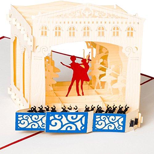 cal Theater mit Ballet Tänzern & Orchester, Karte als Konzert-Gutschein, Musical-Gutschein, Theater-Gutschein ()