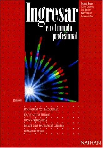 INGRESAR EN EL MUNDO PROFESIONAL