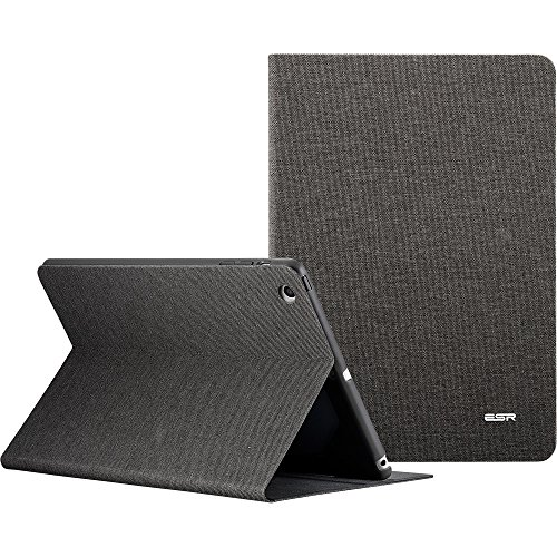 ESR iPad Mini Hülle, Auto aufwachen/Schlaf Funktion und Einstellbarem Blickwinkel Funktion Schutzhülle für iPad Mini 3/2/1 (Bräunlich-Grau)