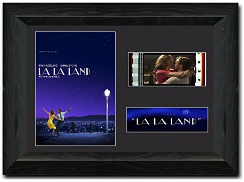La La Land 35 mm Framed Film Cell Display Stunning Collectible Ryan Gosling Emma Stone