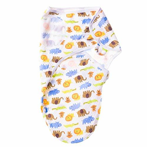 EMJA Premium Baby Pucksack (0-3 Monate) I Optimale Puckdecke für Winter und Sommer dank Reißverschlußsystem I Qualitatives Pucktuch mit Klettverschluß sorgt für erholsamen Schlaf für die ganze Familie