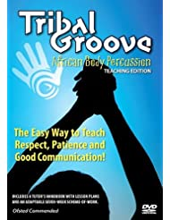 "Libro de aprendizaje de percusión corporal africana ""Tribal Groove African Body Percussion: Learn how to use your body like a drum"" edición PROFESORES"
