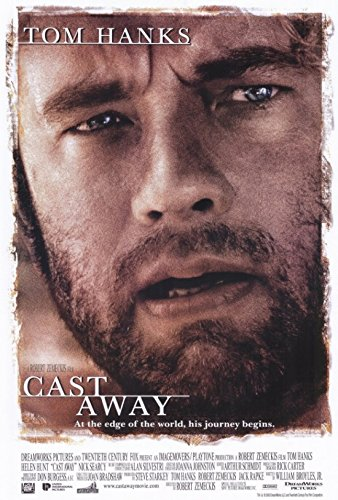 Cast Away Movie Poster (68,58 x 101,60 cm)