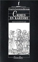 Crimes en Karesme