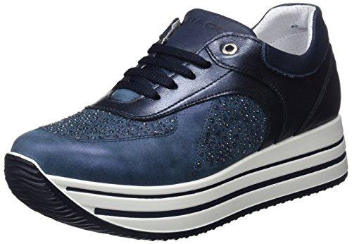 IGI&CO DKY 11556, Zapatillas para Mujer, Gris (Taupe 11), 38 EU