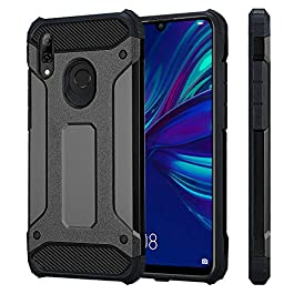VA For Huawei P Smart 2019 Phone Case ShockProof Dual Layer Armor Rugged Hybrid Protective Back Cover For Huawei P smart 2019