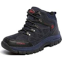 J T Scarpe da Escursionismo Uomo Stivali da Trekking Resistente All Acqua  Arrampicata Sportive All  92bcf783a23