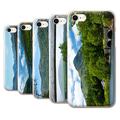 Stuff4 Hülle / Case für Apple iPhone 8 / Loch/Felsen Muster / Schottisch Landschaft Kollektion Pack 14pcs