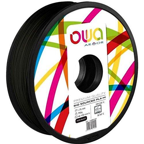 OWA PL1024OW PLA Filament, Noir