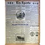 SPORTS (LES) [No 594] du 17/07/1906 - LE CRITERIUM - LE TOUR DE FRANCE - VICTORE DE TROUSSELIER - SISOWATH EN AUTO - LA PELOTE BASQUE A SAINT-JAMES - LA COUPE LIEDEKERKE - LA SEMAINE D'OSTENDE