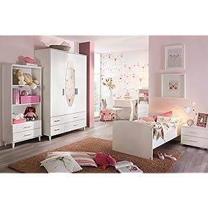 Jugendzimmer, Kinderzimmer, Komplett Set, Jugendmöbel, Kleiderschrank, Bett  Mit Maßen,
