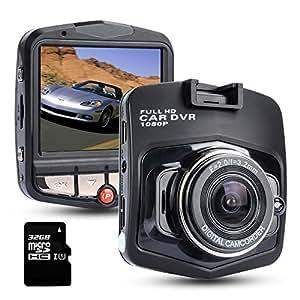 camera voiture hd zoto 32gb grand angle de 140 enregistreur dashcam 2 4 lcd moniteur camera. Black Bedroom Furniture Sets. Home Design Ideas