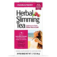 21st Century Herbal Slimming Tea - CranRasberry 24 Bags