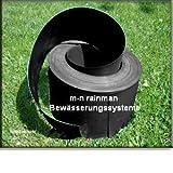 50 m Rasenkante/ Beeteinfassung schwarz, Stärke 1 mm, Breite 12 cm - für andere Längen, Breiten und Farben besuchen Sie bitte unseren Shop (kein Stahlblech)