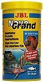 JBL NovoGrand 30180 Alleinfutter für große Aquarienfische, Flocken 1 l