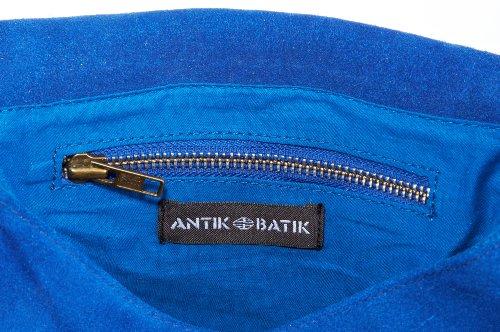 Antik Batik  BABA,  Borsa a tracolla donna Blu (Blau (ELECTRIC BLUE))
