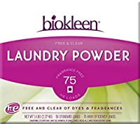 Biokleen Free & Clear Laundry Powder, 8-Count