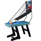 Winmax Deluxe 5 in 1 Multigame Klappbar Tischtennis Glatt Hockey Schach Pool Basketball Set - 2