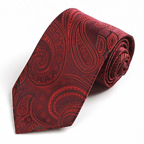 EGD1B.01 Reihen-Muster-Mikrofaser-Kleid-Smoking-Weste-Ansatz-Krawatten-Satz-M?nner durch Epoint EGD1B01C-Rot