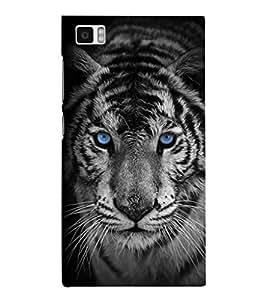 EPICCASE Eye of the Tiger Mobile Back Case Cover For Xiaomi Mi3 (Designer Case)