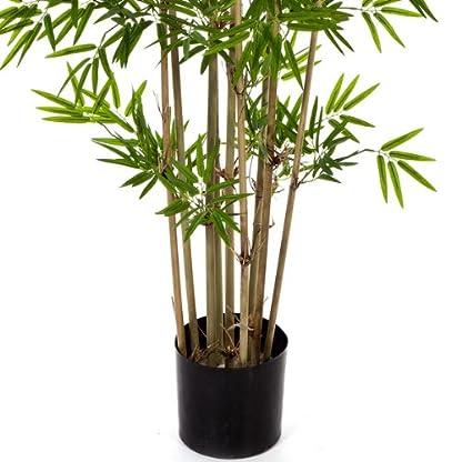 artplants.de Bambú Artificial con 480 pequeñas Hojas, 80cm – Árbol Artificial – Planta Decorativa