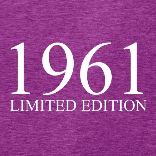 1961 Limierte Auflage / Limited Edition - 56. Geburtstag - Damen T-Shirt - 14 Farben Beere