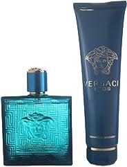 Versace Eros Eau De Toilette 100Ml And Invigorating Shower Gel 150Ml Giftset for Men