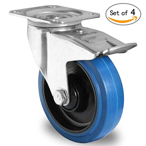 heavy-duty-swivel-caster-wheels-lockable-ball-bearing-100-x-36mm-blue