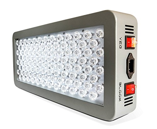Advanced Platinum Series P300 300w 12-band LED Grow Light Review - Best choice for those serious about there growing and professionals. Probably the best LED grow light available
