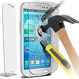 Premium aus gehärtetem Glas Crystal Clear LCD-Schutzfolien Packs mit Poliertuch & Anwendung Karte für Samsung Galaxy S3 i9300 Packung 1