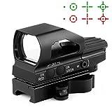 HD104 Leuchtpunktvisier, Reflexvisier, Red Dot Visier, 1x23x34 für 22mm Weaverschiene